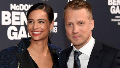 Oliver Pocher, Comedian, und Amira Aly