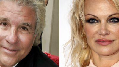 Hollywood-Produzent Jon Peters (l) und Schauspielerin Pamela Anderson