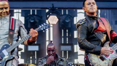 Rammstein beim Konzert im Olympiastadion 2019