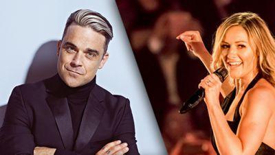 Robbie Williams und Helen Fischer