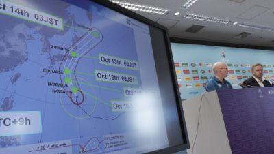 Wegen des nahenden Taifuns «Hagibis» werden bei der Rugby-WM in Japan zwei Spiele abgesagt