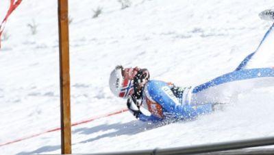 Sturz bei Skisprung-WM