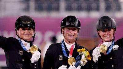 Olympisches Gold für Dressurreiterinnen