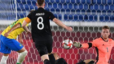 Olympisches Turnier: Deutschland - Brasilien