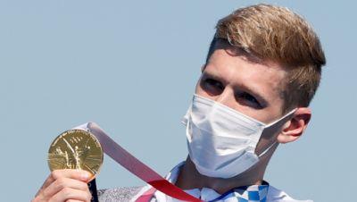 Florian Wellbrock mit Gold