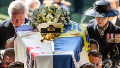 Trauerfeier und Beisetzung von Prinz Philip