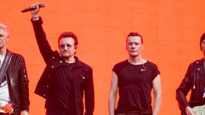 Die Band U2 spendet 10 Millionen Euro im Kampf gegen Corona