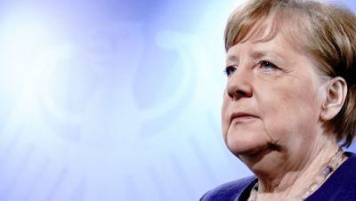 Corona-Konferenz mit Merkel
