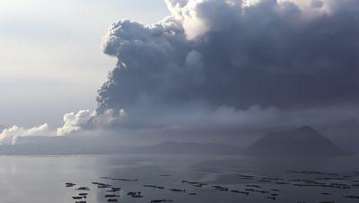 Vulkanausbruch Philippinen