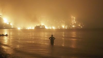 Waldbrand Griechenland