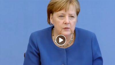 Angela Merkel, Bundespressekonferenz
