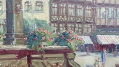 Ausschnitt Demm Gemälde