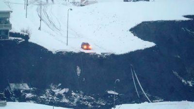 Erdrutsch in Norwegen