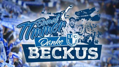 1. FC Magdeburg, Abschiedsspiel Christan Beck