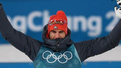 Biathlet Arnd Pfeiffer holt Olympiagold