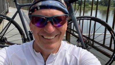 Begeisterter Biker: Moderator Maik Scholle Scholkowsky