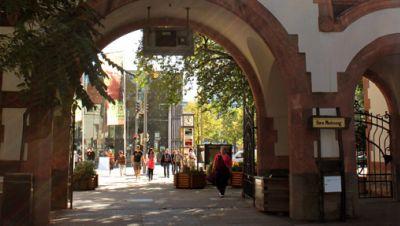 Zoo Leipzig, Eingang