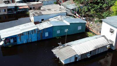 Hochwasser in Brasilien