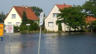 Hochwasser Schönebeck