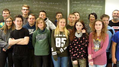 Klasse übersetzt in Braunsbedra