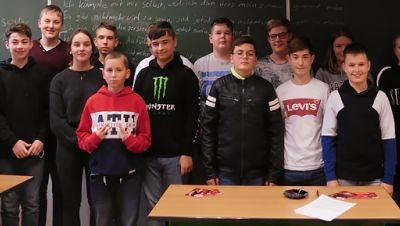 Klasse übersetzt! in Möser