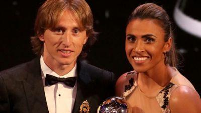 Ballon d'Or: Lika Modric und Marta