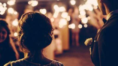 Hochzeitsfeier am Abend