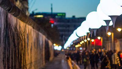 Lichtkunst-Aktion