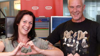 Die Muckefucks Jana Lammich und Volker Haidt