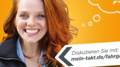Werbeplakat Nasa-Fahrgastforum