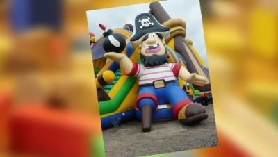 Piraten Hüpfburg