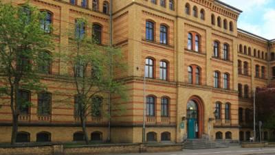 Polizeigebäude Magdeburg