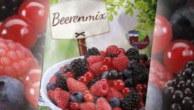 Rückruf von Beerenmix