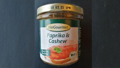 Paprika & Cashew Brotaufstrich