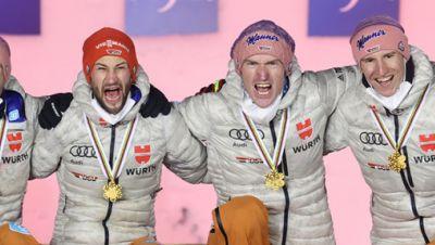 Skisprung WM: Teamspringen