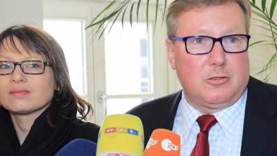 Katja Pähle, Andreas Steppuhn (SPD)