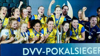 DVV-Pokalsieger 2021: SSC Palmberg Schwerin