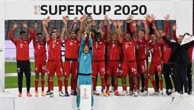 FC Bayern München gewinnt Supercup 2020