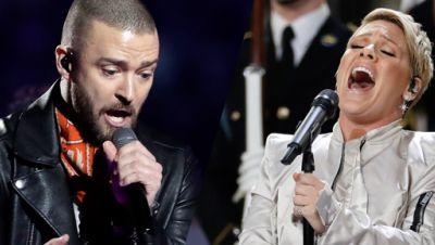 Justin Timberlake, P!NK