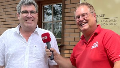 Torsten Rössler, Winzer Stephan Herzer