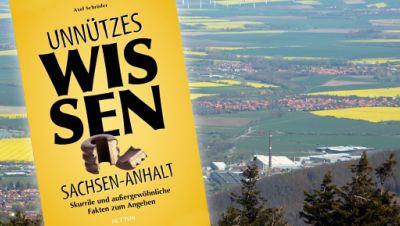 Sachsen-Anhalt Landschaft - Buchcover