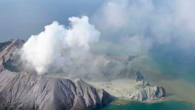 Vulkanausbruch in Neuseeland