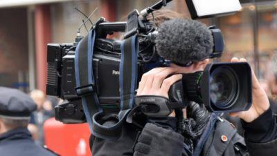 Kamera, Film, Dreharbeiten, Polizei