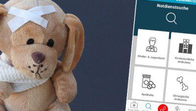 Kindernotfall-App