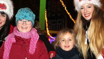 Weihnachtsengel in Wernigerode