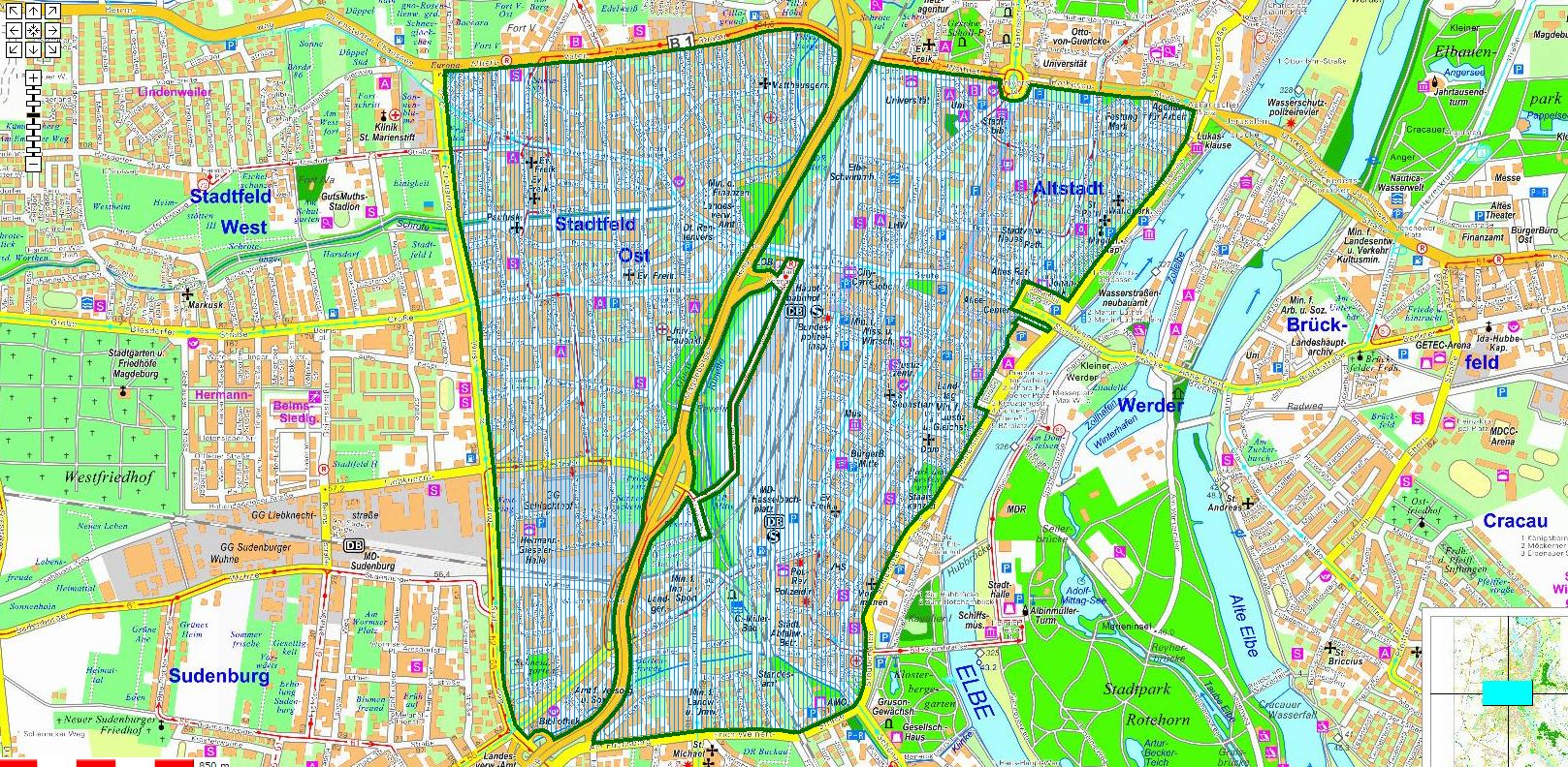 Umweltzone Leipzig Karte.Magdeburg Kontrolliert Umweltplaketten Radio Saw